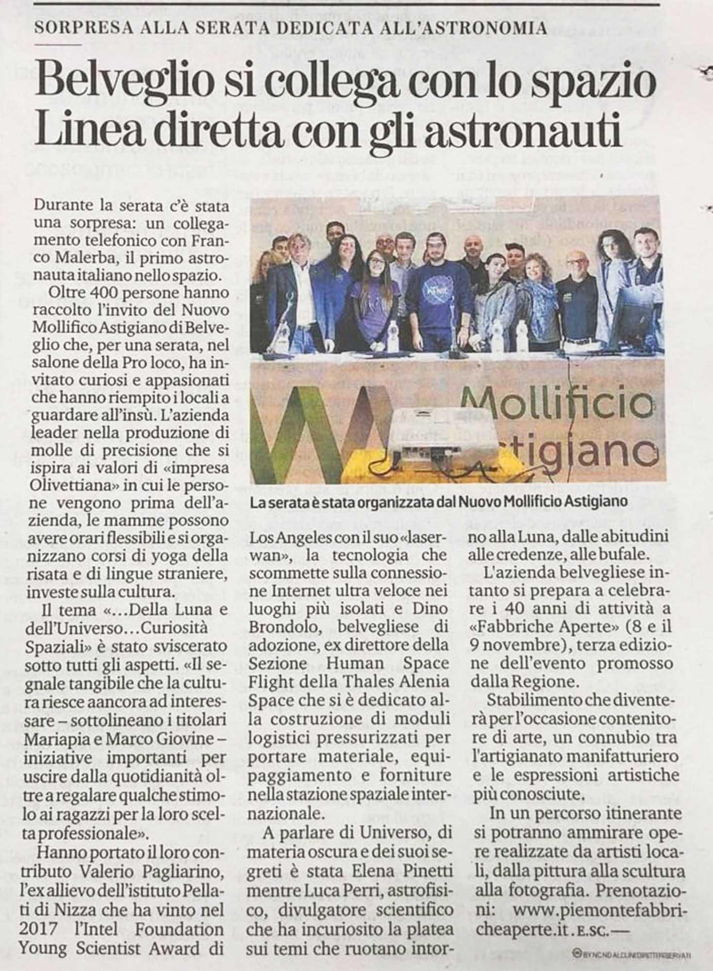 Serata Spazio 1_11_2019 La nuova provincia